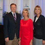 Dr. James Otteson, Sharon Hillstrom, Bradenton Area Economic Development, Dr. Carol Probstfeld, President, State College of Florida, December 2016