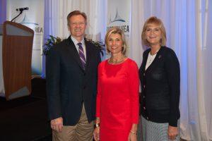 Dr. James Otteson, Susan Hillstrom and Dr. Carol Probstfeld