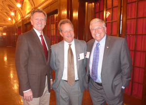 Dr. Otteson, Ted Klumb, and Tony Maresca, November 2017, The Fund for American Studies, Milwaukee