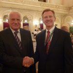 Czech Republic President, Vaclav Klaus and Dr. Otteson, Prague, September 2012